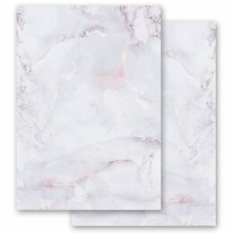 Motif Letter Paper! MARBLE LILAC 20 sheets DIN A4