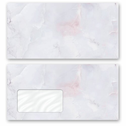 Motif envelopes! MARBLE LILAC Marble paper