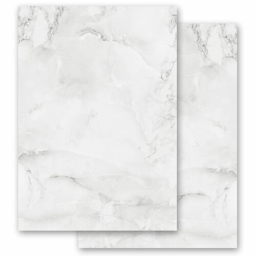 Motif Letter Paper! MARBLE LIGHT GREY Marble paper