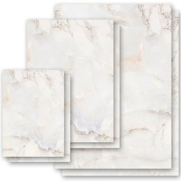 Motif Letter Paper! MARBLE NATURAL Marble paper