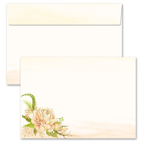 Motif envelopes! PEONIES
