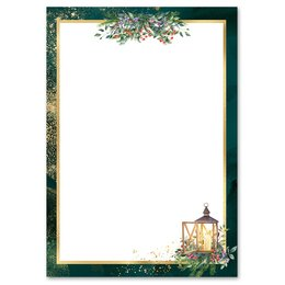 Motif Letter Paper! ADVENT NIGHT 20 sheets DIN A4
