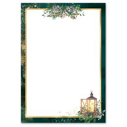 Motif Letter Paper! ADVENT NIGHT 50 sheets DIN A5