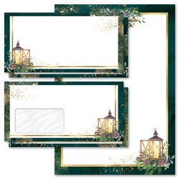 Motif Letter Paper-Sets ADVENT NIGHT