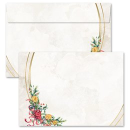 25 patterned envelopes WINTER MOMENTS in C6 format...