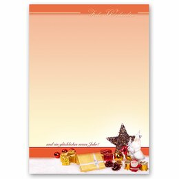 Motif Letter Paper! BEAUTIFUL CHRISTMAS