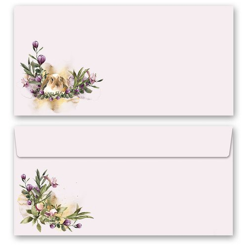 Motif Letter Paper-Sets FLOWER NEST